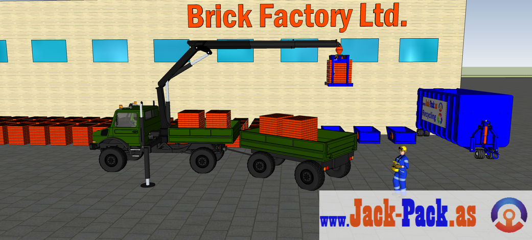 It is also a brick stack grapple